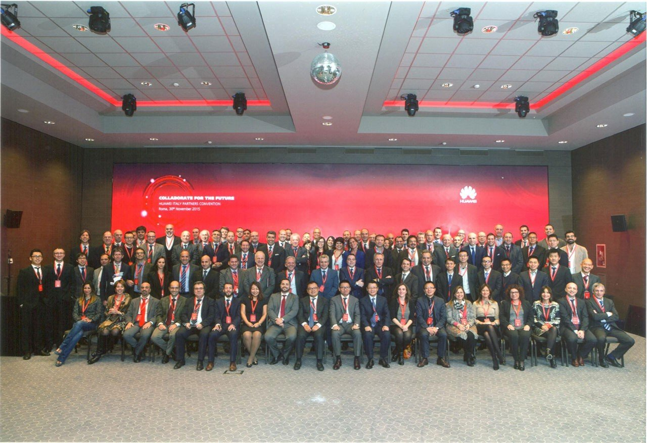 NETCOM GROUP A HUAWEI ITALY PARTNERS CONVENTION 2015