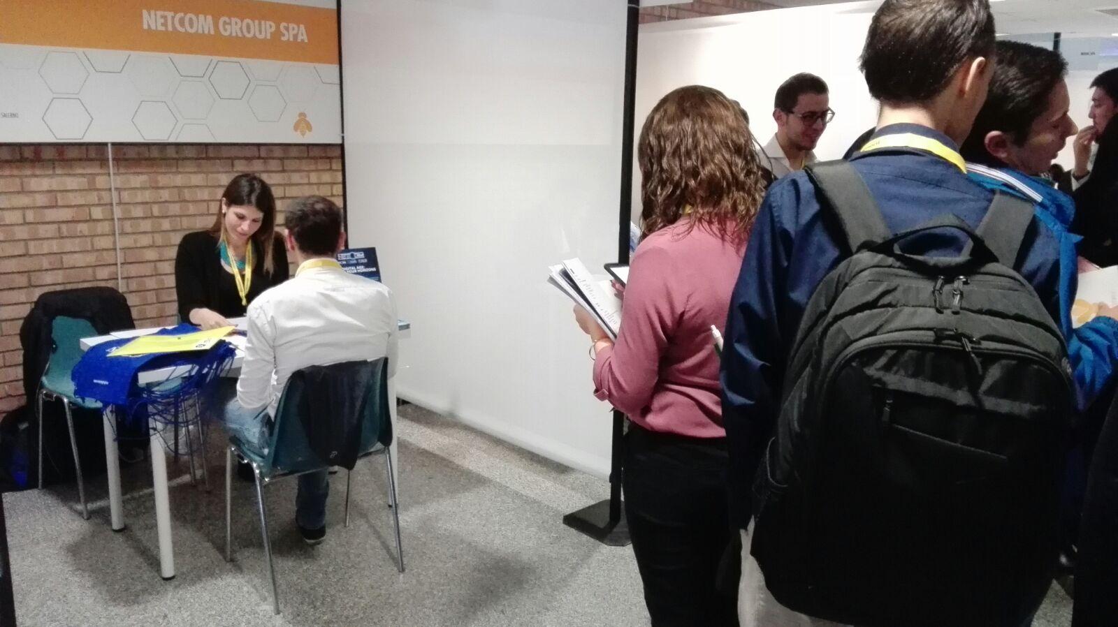 UNIVERSITÀ DI SALERNO: JOB IN CAMPUS 2017, GRANDE INTERESSE DEGLI STUDENTI PER LE ATTIVITÀ DI NETCOM GROUP