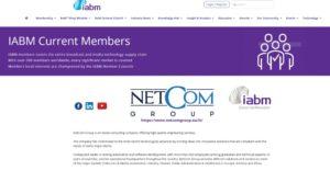 IABM: NETCOM GROUP ENTRA A FAR PARTE DI UNA DELLE MAGGIORI ASSOCIAZIONI NEL CAMPO DEI MEDIA