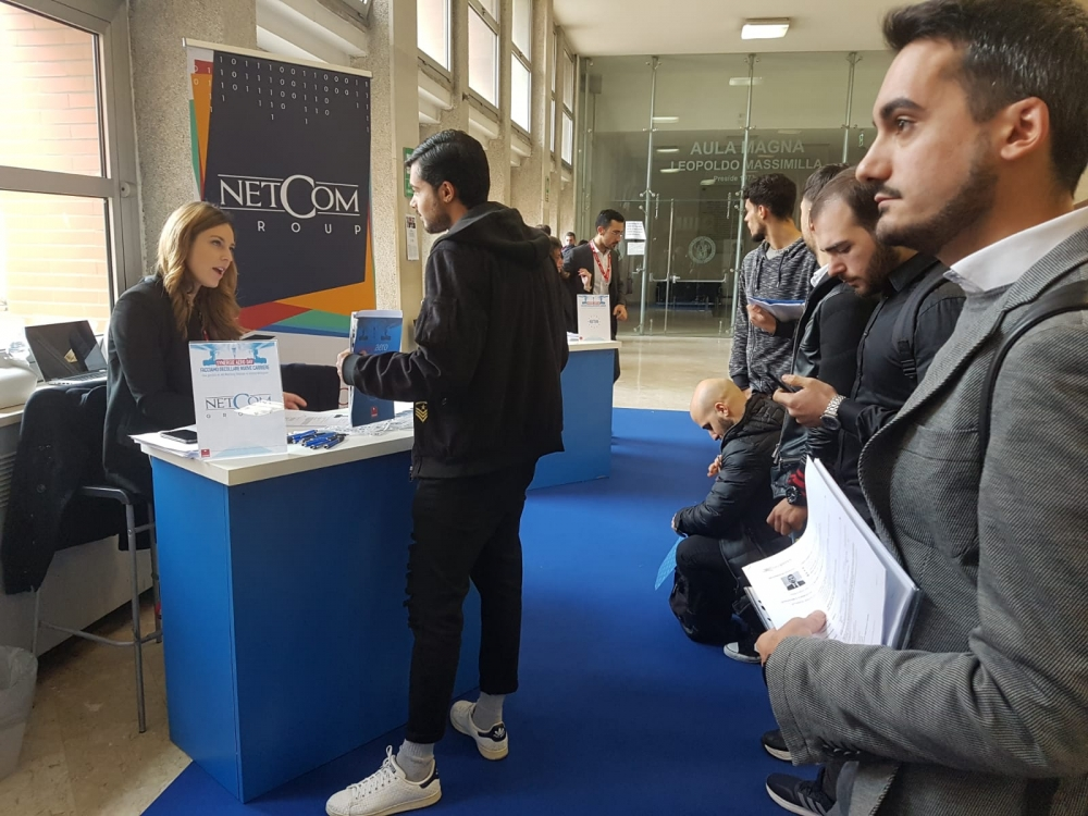 "NETCOM GROUP A NAPOLI AL JOB MATCHING ""AERODAY"" DI SYNERGIE"