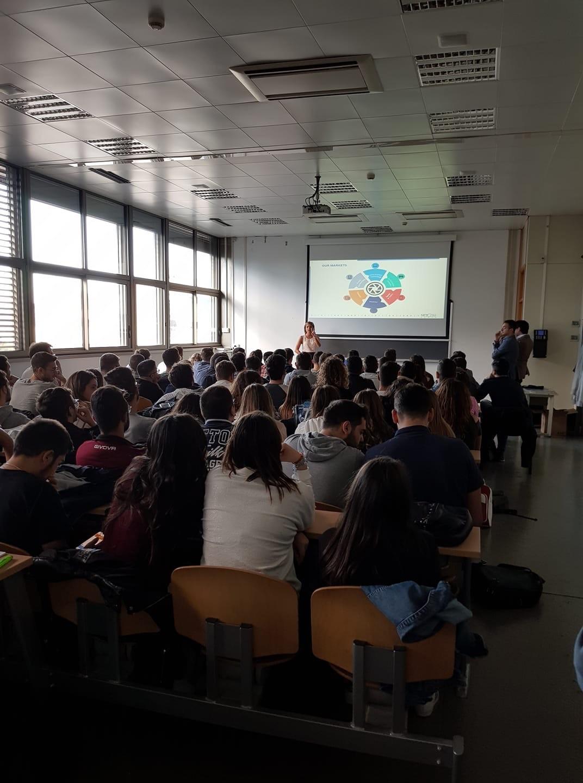 UNA «FINESTRA SUL LAVORO»: GRANDISSIMO INTERESSE DEGLI STUDENTI DELL'UNIVERSITÀ DI SALERNO PER LA PRESENTAZIONE DI NETCOM GROUP