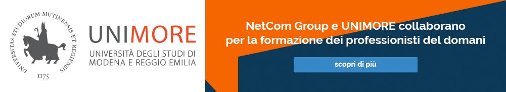 NetCom Group e UNIMORE collaborano per la formazione dei professionisti del domani